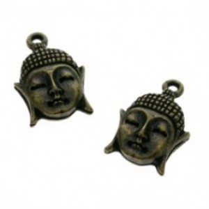 Bedel brons buddha 16mm