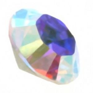 Swarovski puntsteen SS39 crystal AB