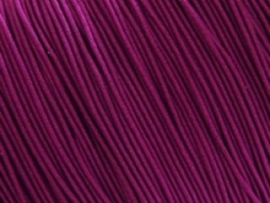 Gekleurd elastiek 0,8mm 10 meter paars