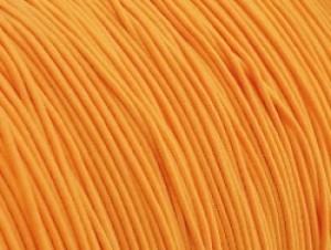 Gekleurd elastiek 0,8mm 10 meter oranje