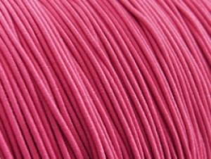 Gekleurd elastiek 0,8mm 10 meter roze