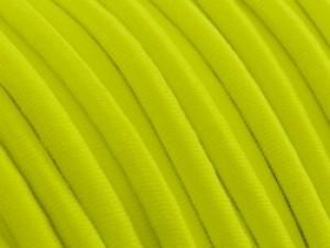 Elastiek draad neon geel 0,8mm