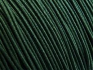 Gekleurd elastiek 0,8mm 10 meter groen