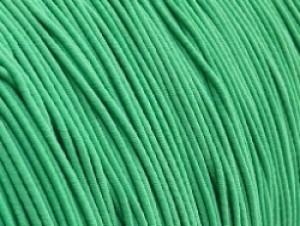 Gekleurd elastiek 0,8mm 10 meter licht groen