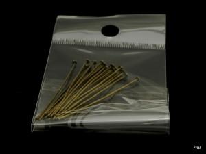 Nietstift  5cm brons zakje 15 stuks