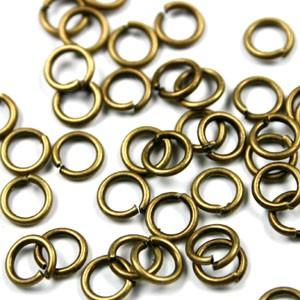 Buigring brons zakje 20 stuks 6mm