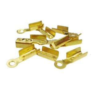 Klem 8x2.5x2mm goud