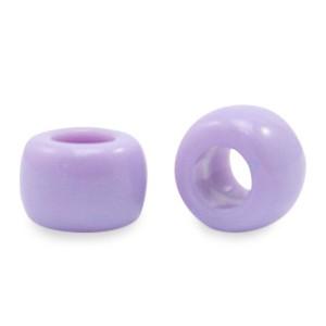 Acryl rondellen 9mm purple per stuk