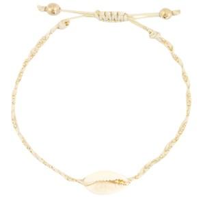 armbandje-kauri-gevlochten-sand-beige-gold