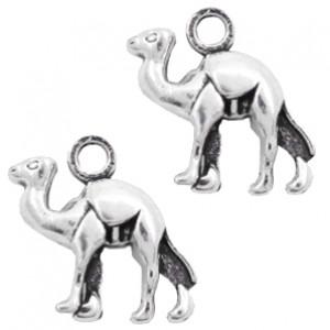 Bedel camel 15x14mm zilver