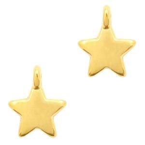 Bedel DQ star goud 10x8mm