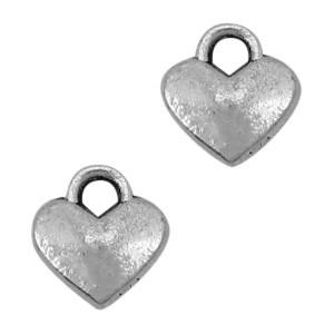 Bedel hart 8x7mm zilver