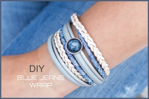 DIY pakket Blue jeans wrap