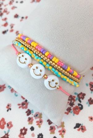 DIY pakket colorful happy bracelets