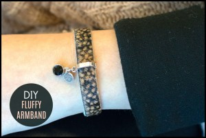 DIY pakket Fluffy armband