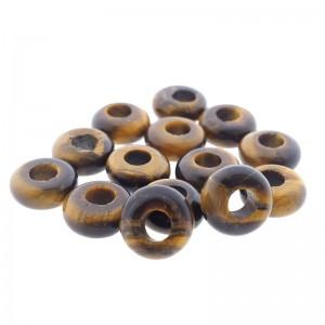 donut-edelsteen-kraal-tijgeroog-10-5mm