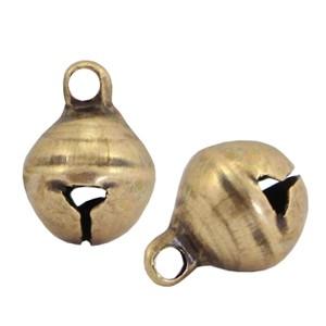 DQ bedel bel 6mm antiek brons