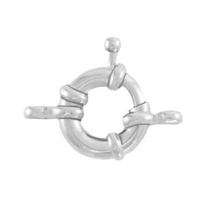 DQ boeislot zilver 21mm
