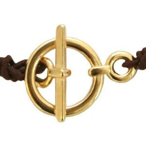 Kapittel slot goud stainless steel 14mm