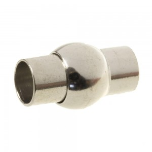 DQ magneetslot rond 12mm zilver