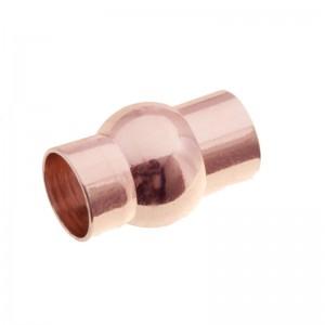 DQ magneetslot rond 8mm rosé goud