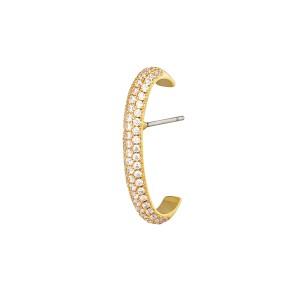 earcuff piercing bold goud per stuk