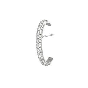 earcuff piercing bold zilver