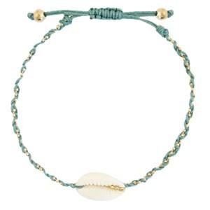 enkelbandje-kauri-gevlochten-ocean-blue-gold