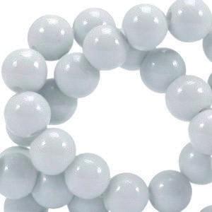 Glaskraal opaque 6mm grey