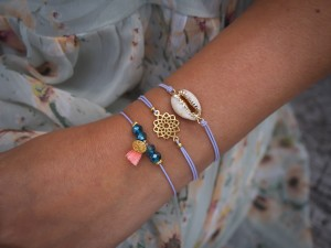 DIY pakket kauri lila armparty