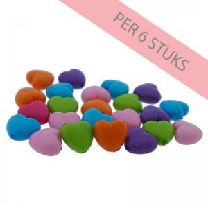 hartjeskralen-mixed-color-ii-10mm-per-6-stuks