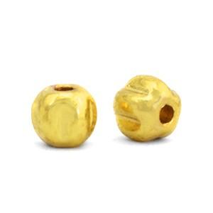 Hematite kraal pentagon 4mm gold