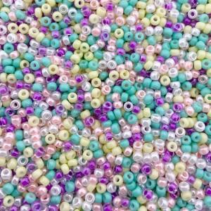 Miyuki rocailles 8/0 (3mm) 5 gram mix 8