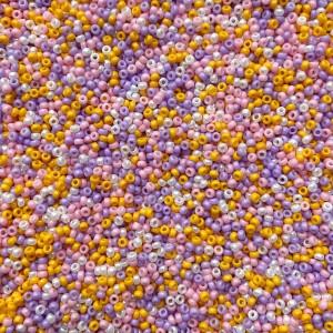 Miyuki rocailles 11/0 (2mm) 5 gram mix 10