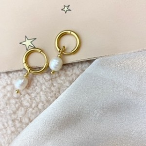 diy-pakket-zoetwaterparel-oorbellen-goud