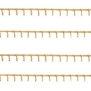 stainless-steel-15mm-jasseron-met-spikes-goud-per-20cm