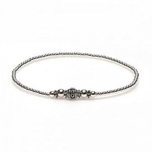 karma armband 925 sterling zilver bohemian round