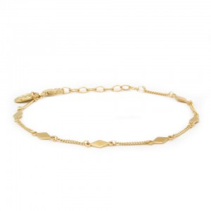 karma-armband-diamond-shape-goldplated-925-sterling-zilver
