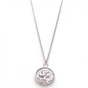 Karma ketting coin elizabeth 925 sterling zilver 50-57cm