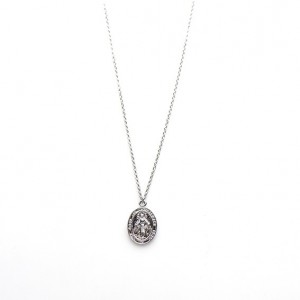 Karma ketting maria 925 sterling zilver 50-57cm