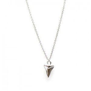 Karma ketting shark tooth 925 sterling zilver 38-45cm