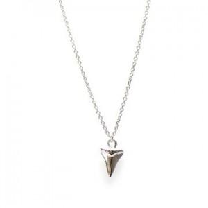 Karma ketting shark tooth 925 sterling zilver 38-45cm