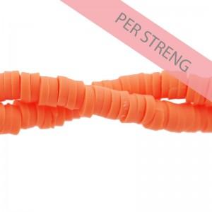 Katsuki kralen 4mm helder oranje 425 stuks (45 cm)