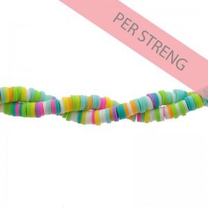 Katsuki kralen 4mm pastel neon mix 425 stuks (45 cm)