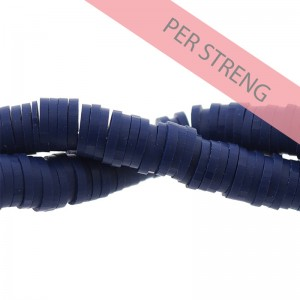 Katsuki kralen 6mm donker blauw 425 stuks (45 cm)