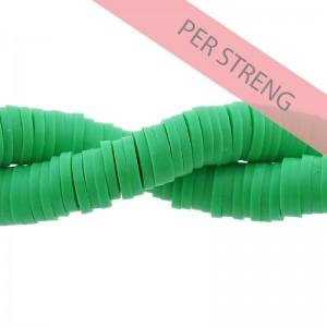 Katsuki kralen 6mm helder groen 425 stuks (45 cm)