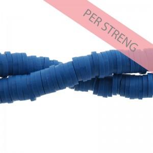 Katsuki kralen 6mm jeans blauw 425 stuks (45 cm)