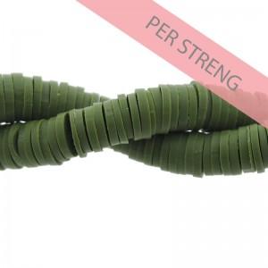 Katsuki kralen 6mm leger groen 425 stuks (45 cm)