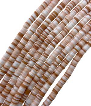 Katsuki kralen 6mm rainbow pink brown mix 8 425 stuks (45 cm)
