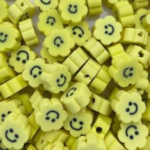 katsuki-kralen-smiley-bloem-geel-8-5mm-per-stuks